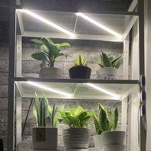 Indoor Phytolamp For Orchids Plants Timer Grow Light Strips Phyto Lamp For Seedlings Home Full Spectrum 5V White LED Lights Bars