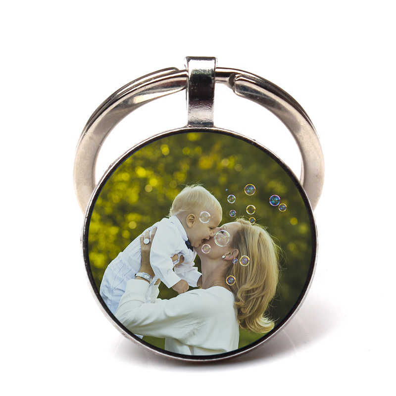 Pedido privado personalidade amor da mãe chaveiro imagem personalização chaveiro bebê criança pai irmãs artesanal família jóias