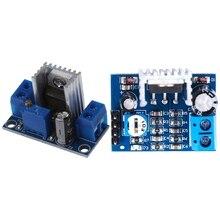 LM317 DC-DC 1.5A 1.2 - 37V Converter Step Down Power Supply Module & TDA2030A Audio Amplifier Module Amplifier Board