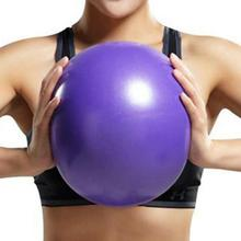 25cm Yoga Ball Exercise Gymnastics Fitness Pilates Ball Balance Exercise Gym Fitness Yoga Core Ball Indoor Training Yoga Ball цена 2017