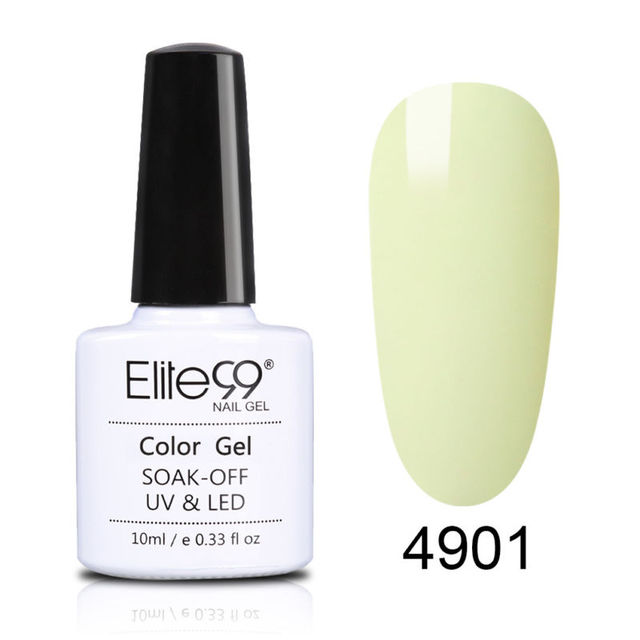 Elite99 10ml Macaron Farbe Nagel Gel Polnisch Fluoreszierende UV Gel Lack Semi-Permanent Nagellack Emaille Nail art maniküre