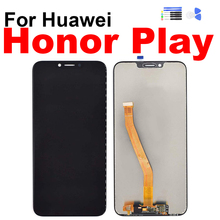 For Huawei Honor Play Display Touch Screen Digitizer LCD Assembly for Huawei Honor Play Screen with Frame Repair Replacement for huawei u9508 honor 2 lcd screen display with black touch screen digitizer frame assembly by free shipping 100% warranty