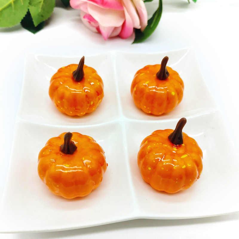 1 Uds. De Halloween decorativo calabaza Mini espuma fruta simulada accesorios para decoración de fiesta de Halloween decoración de granja