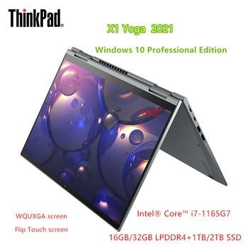 2021 New Lenovo Laptop ThinkPad X1 Yoga Intel i7-1165G7 Professional Windows10 32GB RAM 2TB SSD WiFi6 LED Backlit Touchscreen 1