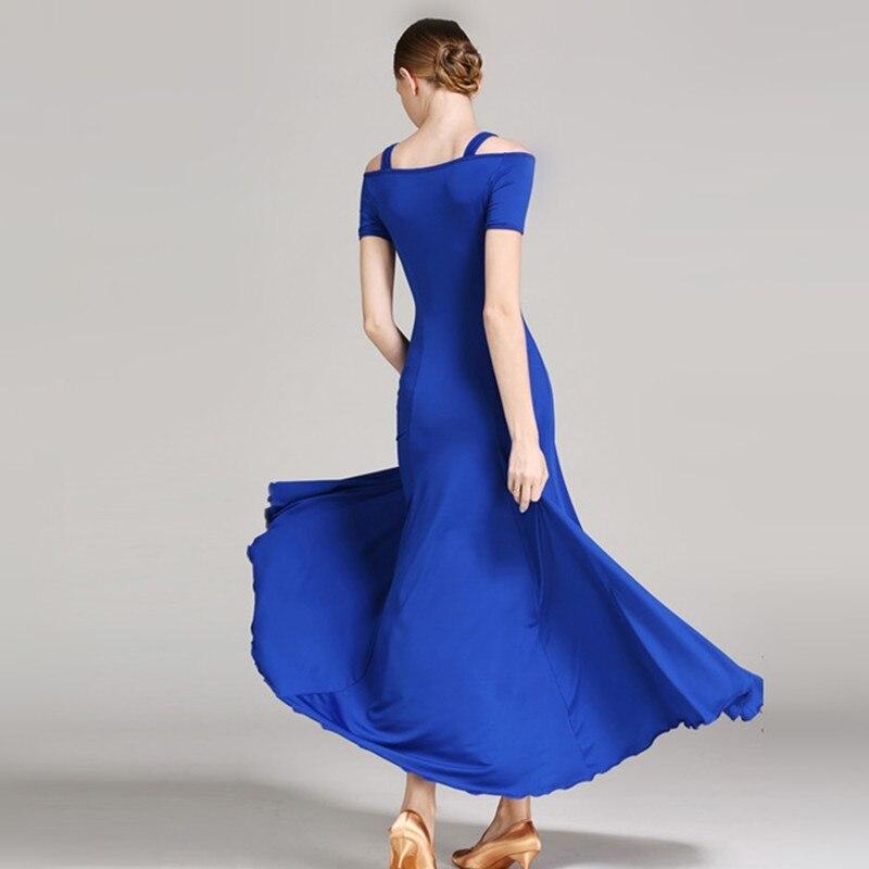 Cheap Ballroom Dress For Ballroom Dancing  Waltz Dance Dress Flamenco Dress Red Spanish Dress Tango Dance Costumes Dance Wear