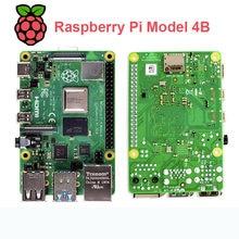 Raspberry pi 4 modelo b, com 1/2/4gb ram, bcm2711 quad core Cortex-A72 braço v8 1.5ghz suporte 2.4/5.0 ghz wifi bluetooth 5.0,