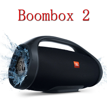 Waterproof Loudspeaker Boombox 2 Portable Bluetooth Music-Box Deep-Bass Wireless IPX7