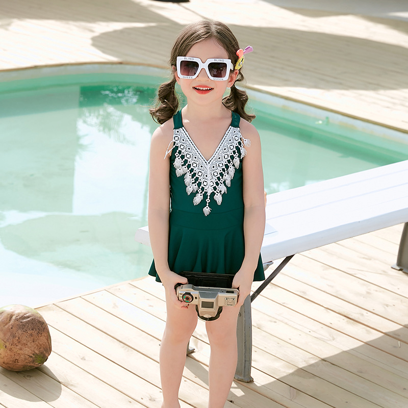 2019 Summer New Style Baby GIRL'S Swimsuit Korean-style Cute Girls Children 3.4-Year-Old Kids Swimwear