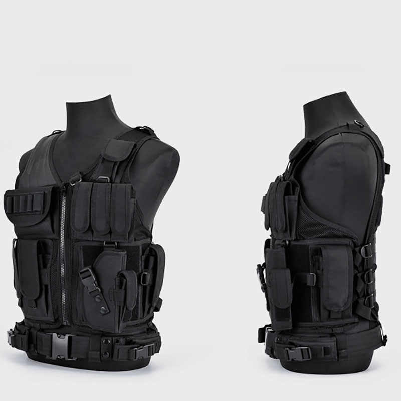 Tactische Vest Militaire Combat Armor Vesten Heren Tactical Hunting Vest Army Verstelbare Armor Outdoor Cs Training Vest Airsoft