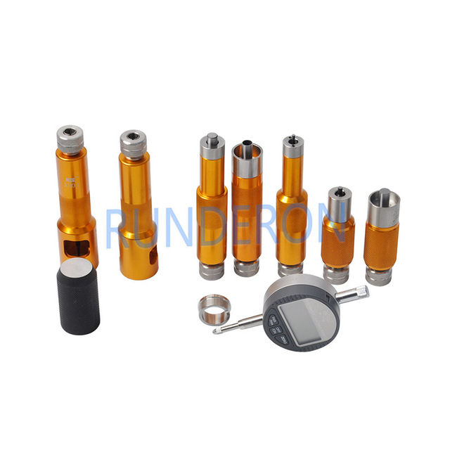 CRI Diesel Service Workshop Common Rail Fuel Injectors Armature Stroke Space Gap Measurement Repair Tools Kit for Bosch Denso