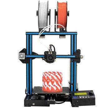 Geeetech A10M 2 في 1 مزيج اللون التجمع السريع لتقوم بها بنفسك طابعة ثلاثية الأبعاد سوبر لوحة Hotbed خيوط كاشف القدرة على كسر استئناف