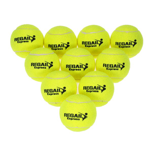 10PCS Tennis Balls Rubber Trai