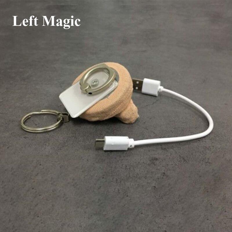 Ultime bobine de feu-acier flamme route 3.0 (Version de charge) tours de magie magicien scène Illusion Gimmick Prop accessoires Magia