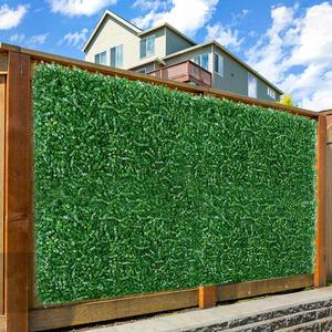 Artificial Privacy Fence Simulation Convenient Multi-purpose Lawn Plant Screen Wall Decoration Leaf Fence For Gardens Courtyard