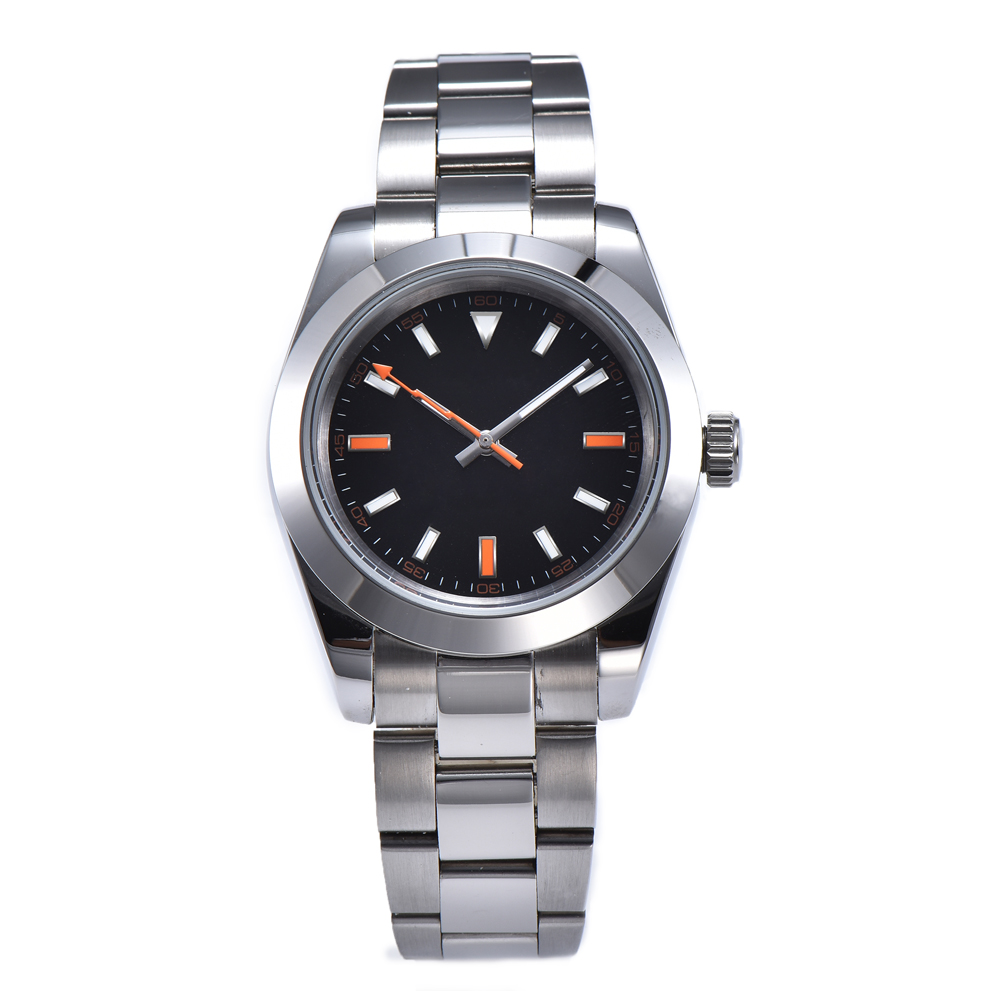 automatic mechanical watch watch men Luminous waterproof 316L Solid stainless steel 40MM LLS91