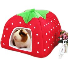 Rabbit Guinea Pig Hamster House Bed Cute Small Animal Winter Warm Squirrel Hedgehog Chinchilla Cage Nest Pet Accessories