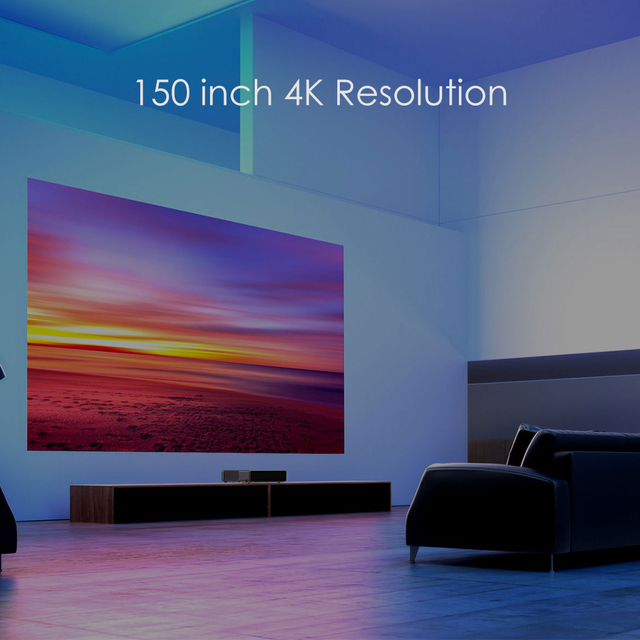 Original Wemax One PRO Laser Projector TV Android Home Theatre 150 Inch 1080P Full HD 4K ALPD 3.0 Dolby Audio DTS HD Cinema HDMI