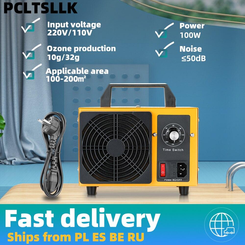 PCLTSLLK 32 Гц/ч генератор озона 220V машина с контроллер синхронизации Воздухоочистители стерилизация для очистки формальдегида