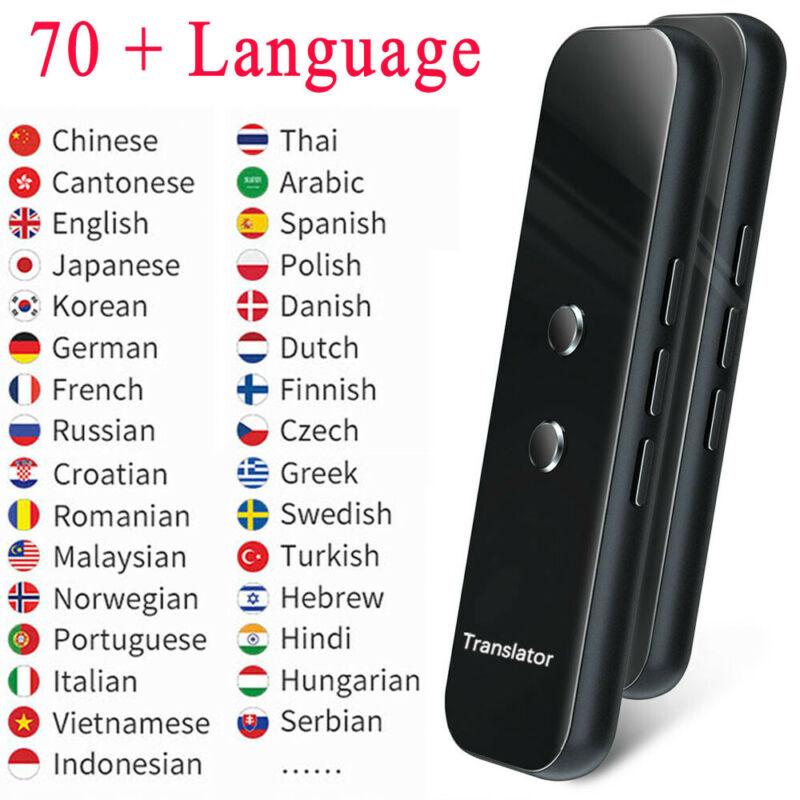 New 70+ Languages Translator 2020 Smart Translator Offline In Real Time Smart Voice Translator Portable Traduttore Offline|Translator| |  - title=