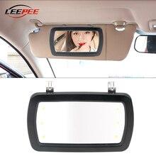 Mirrors Car-Sunshade-Mirror Cosmetic Makeup Vanity Auto-Accessories Sun-Visor Interior