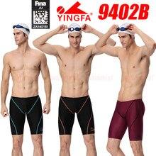 NWT-pantalones cortos de entrenamiento de competición para niños, bañadores profesionales de natación de todos los tamaños, aprobado por FINA, YINGFA 9402B