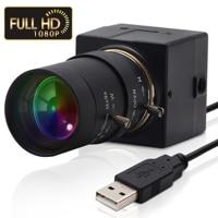 Full Hd 1080P USB Webcam 5-50mm Vario CMOS OV2710 30fps 60fps 100fps Industrielle Usb Kamera UVC für PC Computer Laptop