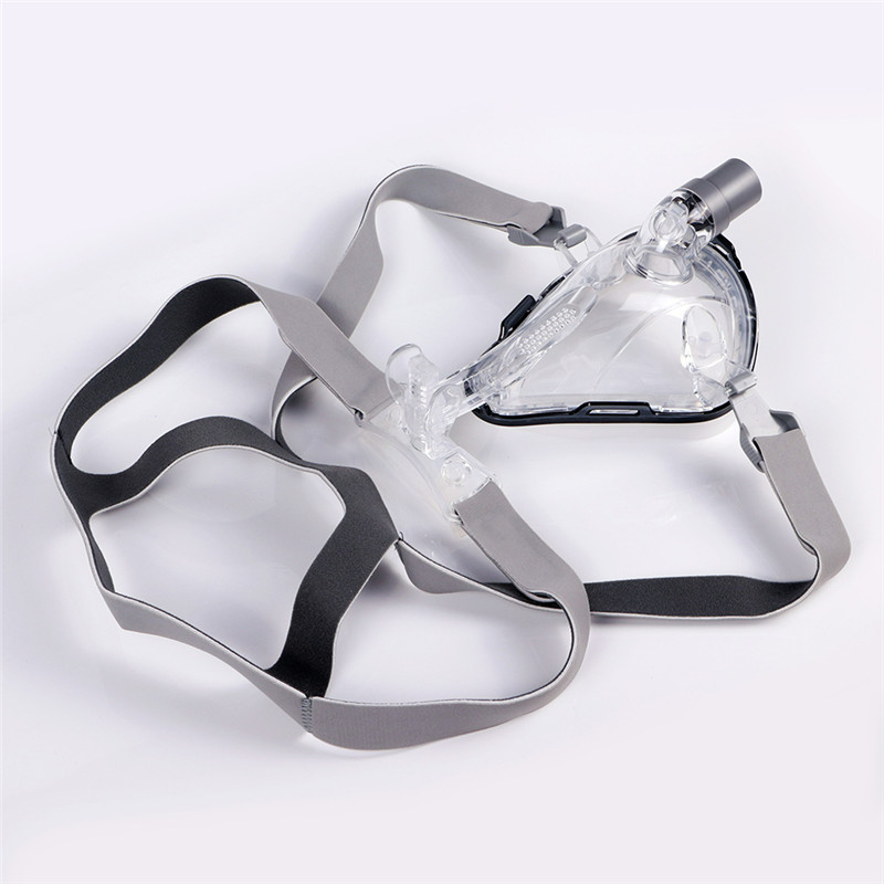 Full Face CPAP Mask Auto with Adjustable Headgear Strap Clip for Sleep Apnea Patient 22