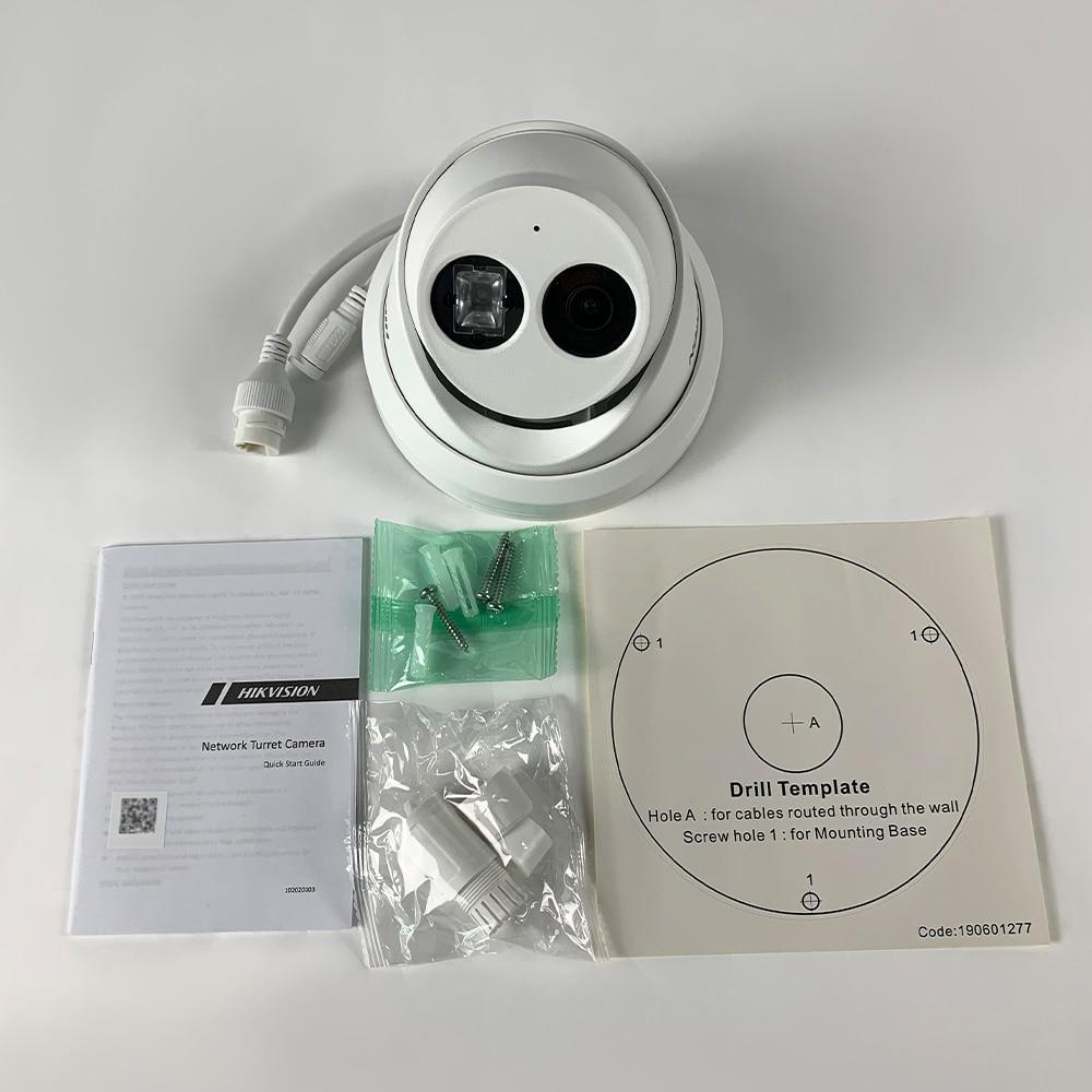 Caméra de sécurité POE cctv réseau DS-2CD2383G0-IU avec microphone intégré 3