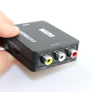 Image 5 - HDMI ל rca AV ממיר HDMI ל AV מתאם אנדרואיד טלוויזיה חכם תיבת מחשב נייד Chromecast עבור 1080P 720P 480P NTSC/PAL HDMI2AV