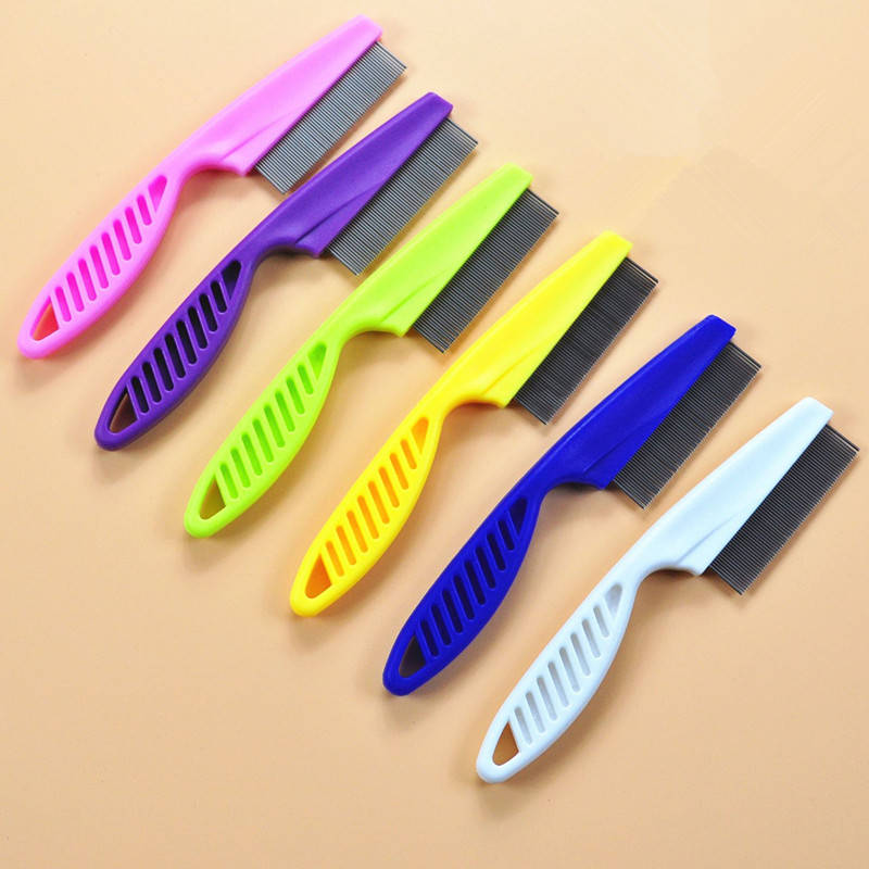 14*1.2cm Hair Grooming Comb Stainless Steel Comfort  Comb Styling Tools & Appliances Hair Care Styling