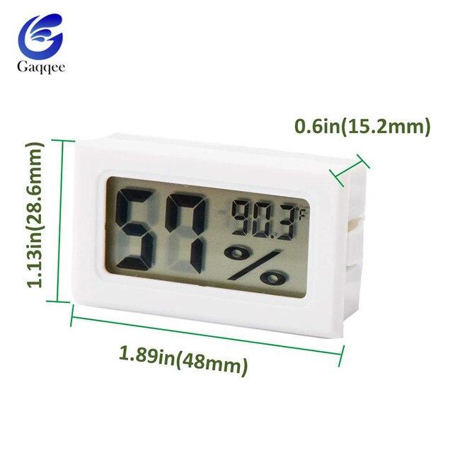 Mini termometr cyfrowy higrometr wewnętrzny miernik temperatury i wilgotności wygodny Tester wilgotności czujnika temperatury LCD
