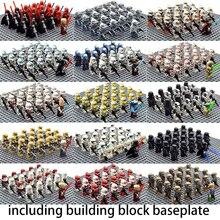 Star Military Series Royal Guard Wolf Trooper Shock Trooper 50st Lepinzk Sets Palpatine Building Blocks Bricks Toys for Children