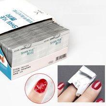 Polish-Foil-Remover Acetone Wraps Removable Nail-Gel Napless-Napkin Lacquer with UV Special