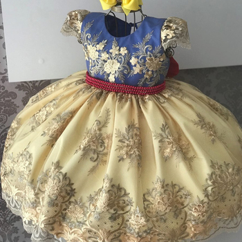 Girls Dress Elegant New Year Princess Children Party Wedding Gown Kids for Girls Birthday   5