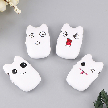 1pc 4 Styles Cartoon Mini MP3 Player Cute Music Player Support Micro SD TF Card USB 2.0 image