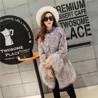 Sheep Coat Sheepskin Coats Female Genuine Leather Korean Style Women Winter 2019 Coats Womens Tops And Blouses Real Fur Parka