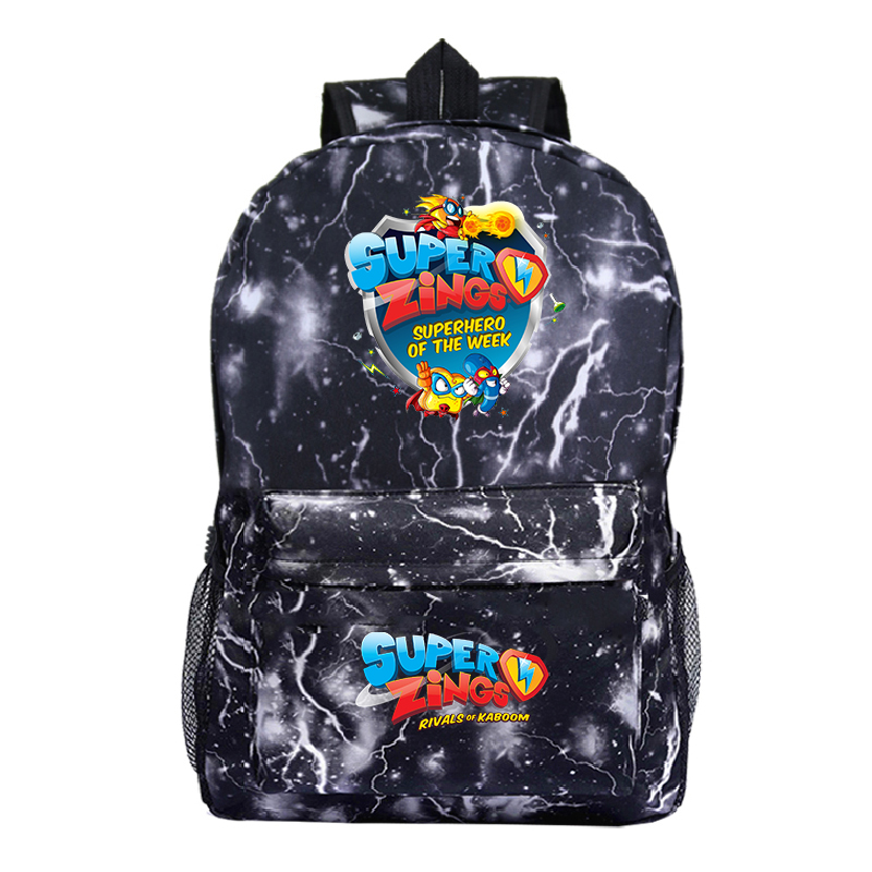 Mochila Plecak Bookbag Super Zings Backpack Women Para Hombre School Bags For Teenage Girls Back Pack Galaxy Mini Backpack Kids