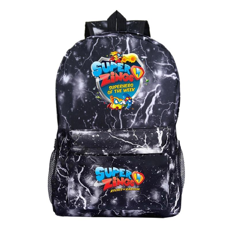 Mochila Plecak Bookbag Super Zings Backpack Women Para Hombre School Bags For Teenage Girls Back Pack Galaxy Mini Backpack Kids