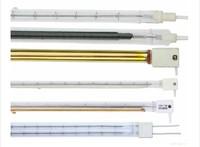 단파 석영 금 도금 반사경 전기 적외선 히터 램프