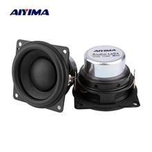 AIYIMA 2Pc 2 Inch Full Range Audio Speakers 8 Ohm 15W Neodymium Magnet Hifi Stereo Bluetooth Speaker Home Theater Loudspeaker
