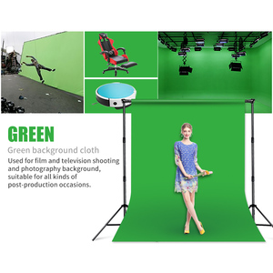 Image 5 - Professional Green/White/Black Muslin Backdrop Photo Background Photography Backdrops for Photo Studio Backgrounds