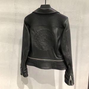 Image 3 - Genuine leather jacket women real leather jacket ladies 2020 new fashion high quality sheepskin coat female