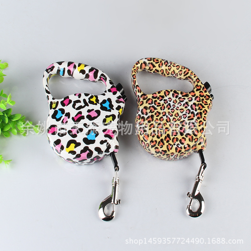 Floral 6 M Traction Belt Automatic Stretching Dog Equipment Pet Supplies Recommended