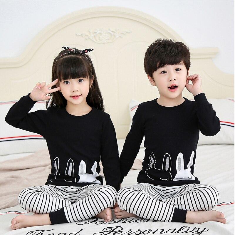 Kids Clothes Big Boys Girls Pajamas Unicorn Pyjamas Kids Sleepwear Cotton Toddler Nightwear Cartoon pijamas enfant Baby pajamas 1