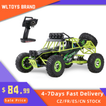 Wltoys 12428 1/12 весы 2,4G 4WD RC автомобиль для восхождения 50 км/ч Высокая Скорость электрический RC автомобиль внедорожник Buggy Crawler автомобиля для дете...