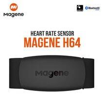 Оригинальный Magene Move H64, двойной режим, Bluetooth 4,0 Ant + датчик сердечного ритма с нагрудным ремешком, монитор сердечного ритма для велосипеда, ком...