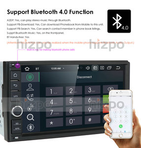 Image 4 - 4GB RAM 64GB ROM Android 10.0 Universal Car NO DVD 2DIN 7 Radio Car GPS Radio NXP6686 Multimedia Autoradio TDA7851 Automotivo