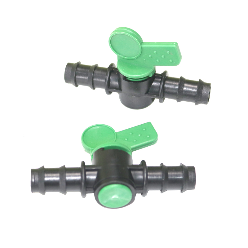 20pcs Straight Hose Water Control Switch Vegetable Garden And Agricultural Irrigation System Shutoff Valves Connecting Tool
