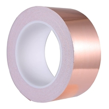 Copper Foil Tape 30mm x 50M for EMI Shielding Conductive Adhesive for Electrical Repairs,Snail Barrier Tape Guitar