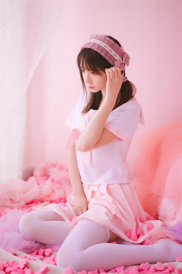 ★网络红人★疯猫ss-丝袜狂想曲(粉)[54P/623MB]插图